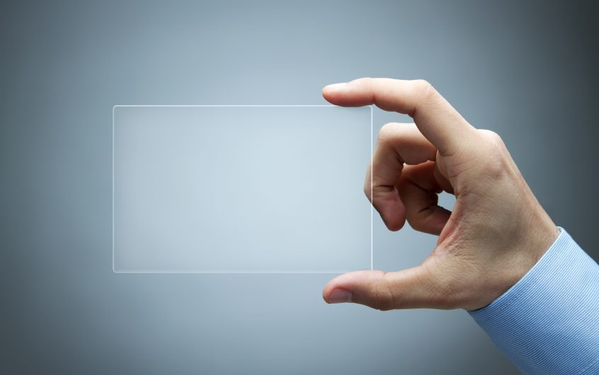 Get Successful And Stay Successful With Transparent Business Cards